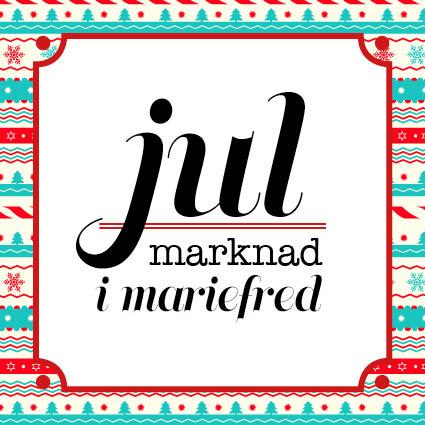 Julmarknad i Mariefred